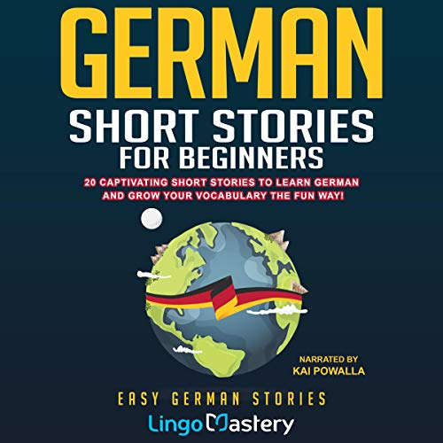 『German Short Stories for Beginners』のカバーアート