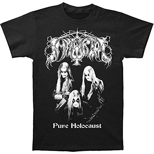 Immortal Men's Pure Holocaust T-Shirt Short Sleeve T-Shirt Men's Funny Black T-Shirt