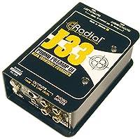 Radial ラジアル ターンテーブル用DIボックス J33 【国内正規輸入品】