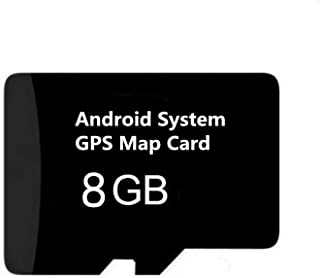 Android System GPS Map Navigation Card, Latest 2019 US/Canada Map Update for Car Stereo Radio GPS Navigator, ONLY For Android 4.2/4.4/5.1/6.0/7.1 system