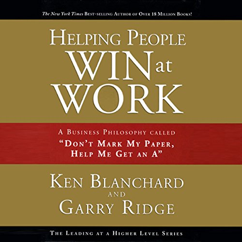 Helping People Win at Work audiobook cover art