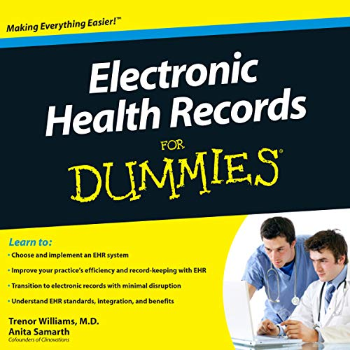Electronic Health Records for Dummies audiobook cover art