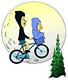 Beavis and Butthead ET (W8 x H9.4 Centimeter) Sticker for Your Laptop Skateboard Luggage Car Travel case Snowboard Motorcycle Bicycle