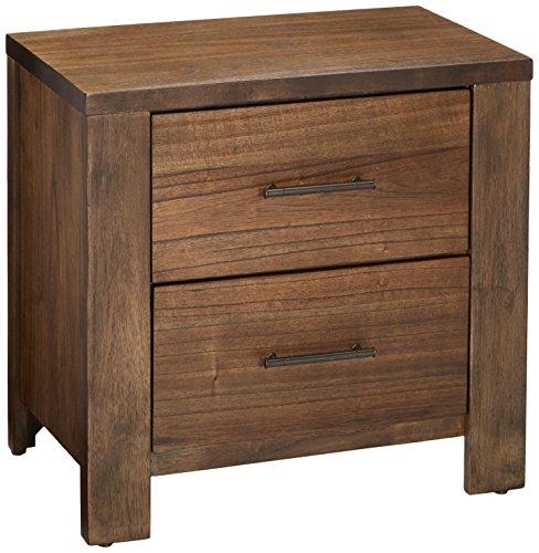 Progressive Furniture Brayden Nightstand, 26' x 17' x 25', Brown