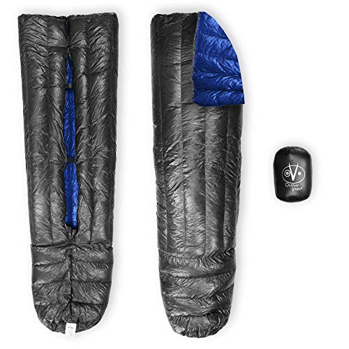 Outdoor Vitals Down TopQuilt for Ultralight Backpacking - 15 Degree