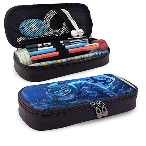 Cartoon Pencil Case Large Capacity Pencil Pen Big Pouch Cute Bag High Storage Middle School College Office Organizer for Boy Girl Student Teen Adult,Cheshire Cat Tom Carlton