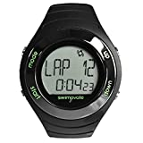 Swimovate Poolmate Live Lap Counter Swim Orologio con Allarme, Nero