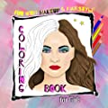 Fun with MakeUp & Hairstyle Coloring Book for Girls: The creative Coloring Book with different beautiful Faces and Modern Hairstyles for little ... to create stylization I Face Make Up Training