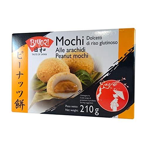 Mochi Dolce Giapponese Gusto Arachidi - Biyori 210g