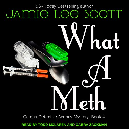 What a Meth audiobook cover art