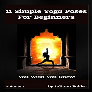 11 Simple Yoga Poses for Beginners (with Proper Hatha Yoga Poses Instructions) audiobook cover art