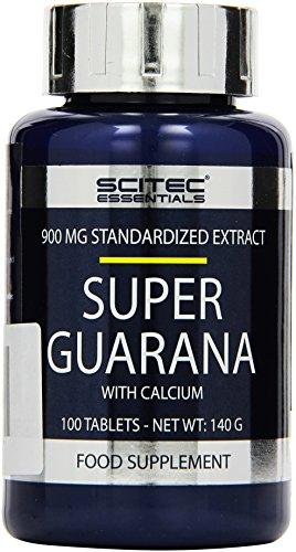 Scitec Nutrition Pre-workout  Super Guarana, 100 Tabletten, 1er Pack (1 x 140g)