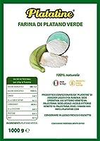 Farina di Platano Verde 100% naturale Gluten Free 1000g. Platatine…