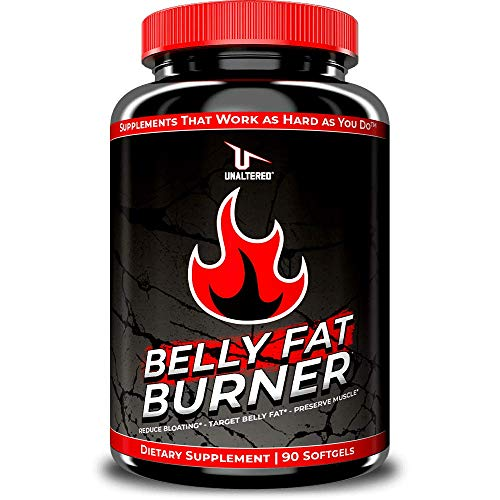 CLA Belly Fat Burner Weight Loss Pills to Lose Stomach Fat & Eliminate Bloating - for Women & Men - 3,000mg Conjugated Linoleic Acid - 30 Servings - Keto Diet Friendly Supplement
