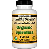 Healthy Origins Spirulina Tablets