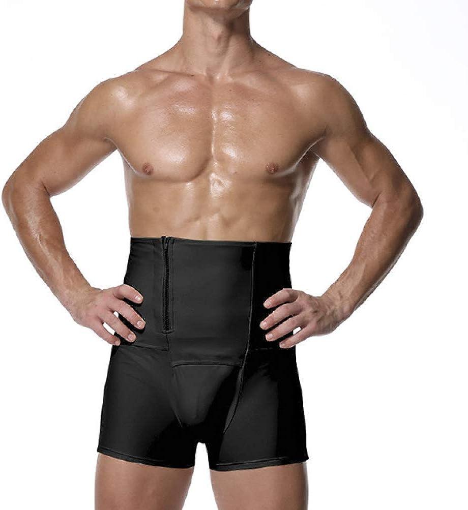 Virginia Beach Surprise price Mall LUCACO Men Tummy Control Shorts Girdle Waist Sli Shaper High Leg
