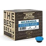 Note d'Espresso - Nicaragua - Cápsulas de Café para las Cafeteras LAVAZZA* A MODO MIO* - 100 caps