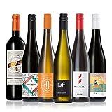 GEILE WEINE Weinpaket HERBST (6 x 0,75l) Probierpaket mit Rotwein und Weißwein von Winzern aus Deutschland, Spanien und Argentinien