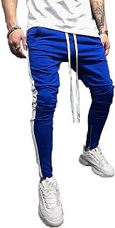 Nansiche Mens Cool Dry Sports Pants Slim Fit Jogging Pants