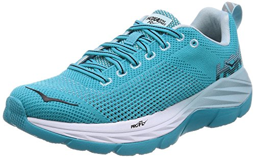 Hoka Womens Mach Bluebird/White 5.5 B US