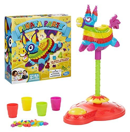 Hasbro Pop! Pop! Pinata! Niños Juego de Habilidades motrices Finas - Juego de Tablero (Juego de Habilidades motrices Finas, Niños, Niño/niña, 4 año(s)