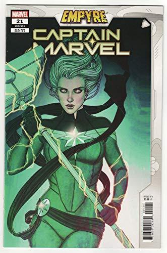 Captain Marvel #21 Frison Empyre Variant (Marvel, 2020) NM