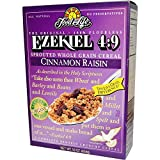 Ezekiel 4:9, Sprouted Whole Grain Cereal, Cinnamon Raisin, 16 oz (454 g)