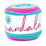 Lion Brand Yarn Mandala Yarn, 1-Pack, Fairy