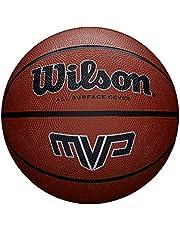 Wilson Unisex Adult MVP BSKT piłka do koszykówki, pomarańczowa, 7