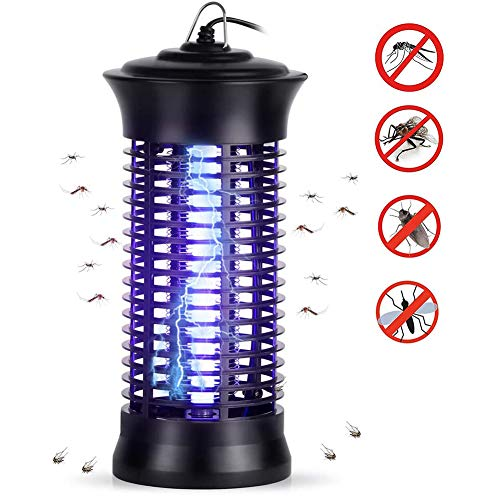 Krachtige Electric Bug Zapper, Electronic Insect Killer met UV-licht, Mosquito Killer Lamp Insect Bug Fly Catcher Pest Control Repellent Vallen