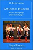L'existence musicale