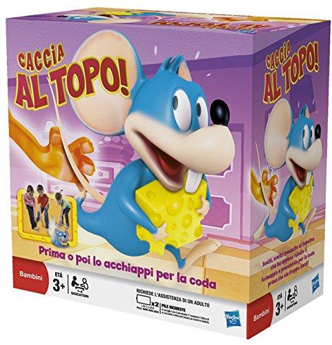 1-4 giocatori Rincorri il Topo e acchiappalo per vincere Adatto a bambini in età prescolare Batterie non incluse