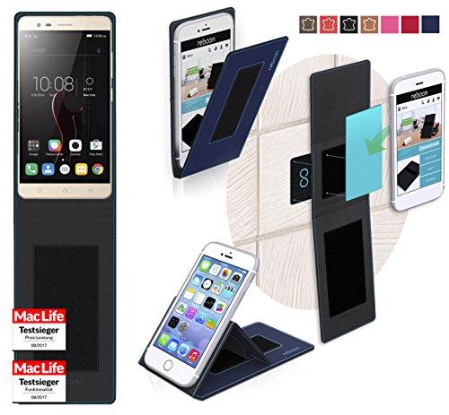 Hülle für Lenovo Vibe K5 Note Tasche Cover Hülle Bumper   Blau   Testsieger