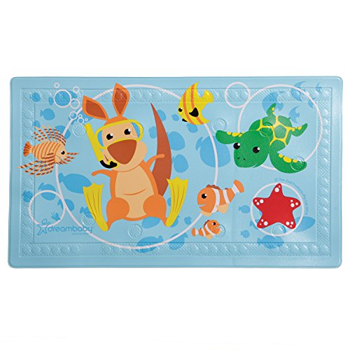 Dreambaby Watch Your Step Anti-Slip Bath Mat with Too Hot Indicator