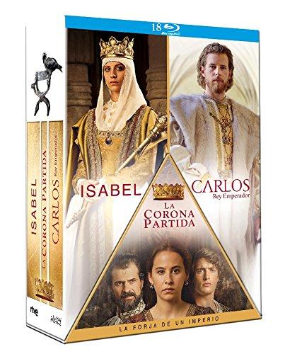 Isabel La corona partida Carlos, Rey Emperador [Blu-ray]