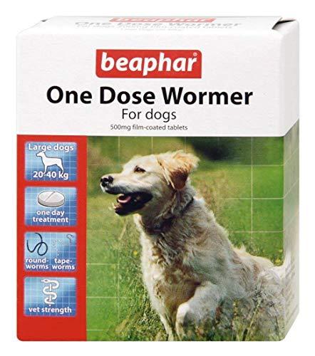 Beaphar – desparasitante de una dosis para perros grandes