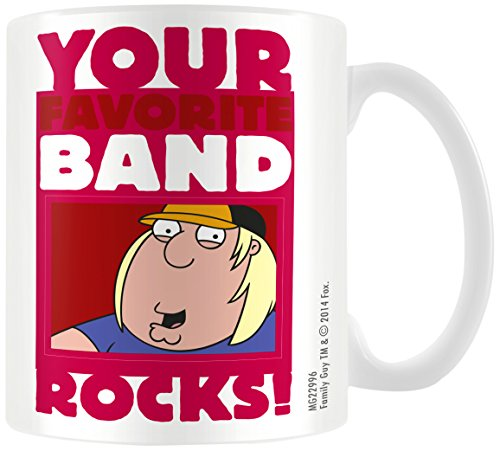 Family Guy MG22996 (Band) Mug, Multicolore, 11oz/315ml