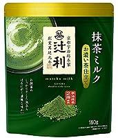 辻利 抹茶ミルク お濃い茶仕立て 160g