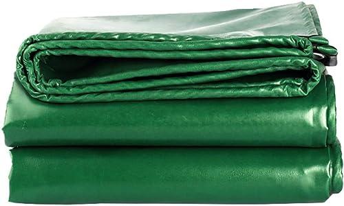 Bache Imperméable Verte avec Bords Renforcés, Couvre-Sol Robustes pour Le Camping, De Prougeection, Bateau (540g   M2) (Taille   3x6m)