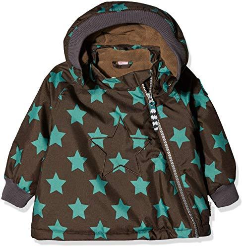 Racoon Baby-Jungen Asmus Star Jacket Jacke, Braun (Chocolate Brown CHO), 74