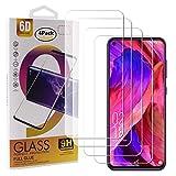 Guran 4 Stück Gehärtetes Glas Bildschirmschutzfolie für Oukitel C21 Smartphone mit 9H Festigkeit Panzerglasfolie Anti-Kratzer HD Klar Schutzfolie Film