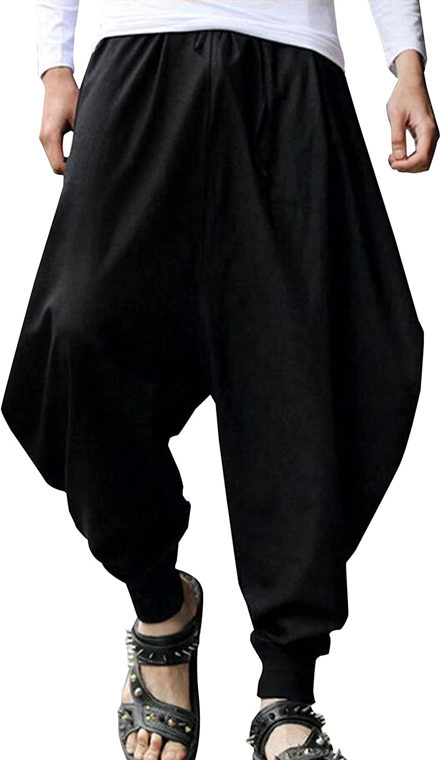 Harem Pants for Men High Waist Loose latest Soft Mo New color Yoga Workout Casual