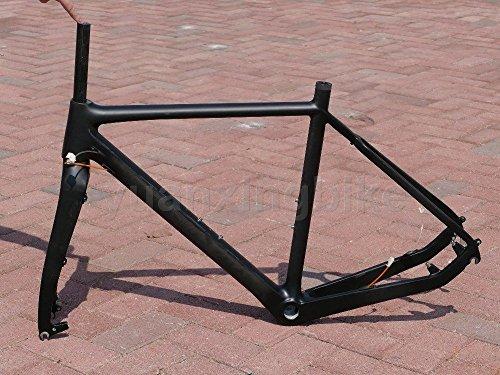 yuanxingbike 603# Toray Carbon Frameset Full Carbon UD Matt Road Bike BB30Frame 53cm Fork Headset