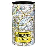 Extragoods City Puzzle de Núremberg Premium para adultos, puzzle de ciudades
