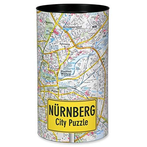 Extragoods City Puzzle Nürnberg Premium Puzzle Erwachsenenpuzzle Spiele Puzzle Städtepuzzle