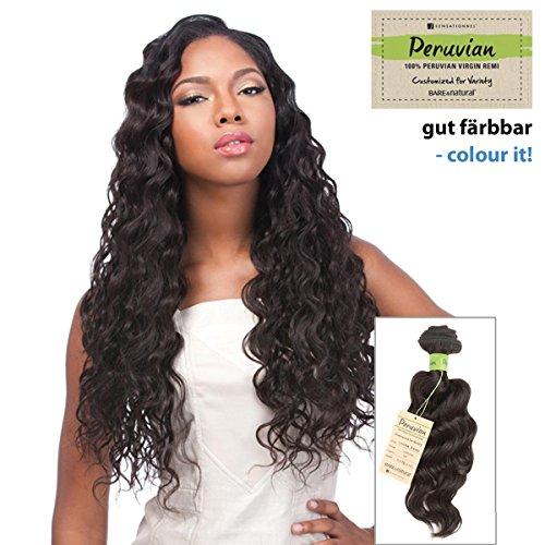 Sensationnel Bare & Natural – Loose Deep – unprocessed style péruvien Virgin Remy – Premium 100% naturels/100% Human Hair Weave (färbbar, lavable, stylebar)