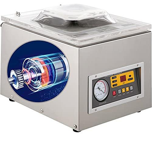 Vacuum Sealer Machine, Commercial Kitchen Food Chamber Vacuum Sealer Packaging Machine Sealer...