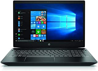 "HP Pavilion Gaming 15-cx0047ne Laptop, 15.6"" FHD display, 8 Gen Intel Core i5-8300H, 8 GB RAM, 512 GB SSD, Nvidia GeForce GTX 1050Ti - 4GB Graphics, Windows 10 Home, En-Ar KB - Black"