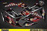 Kit Déco Quad pour/ATV Decal Kit for Yamaha Raptor - Lone Star (Raptor 350)
