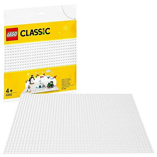 LEGO11010ClassicBaseBlanca,JuegodeConstrucciónparaNiñosaPartirde4años